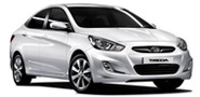HYUNDAI ACCENT from Larnaca Car Hire