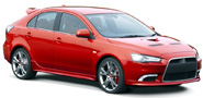 MITSUBISHI LANCER from Larnaca Car Hire